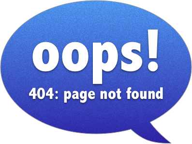 OOPS! 404:Page Not Found